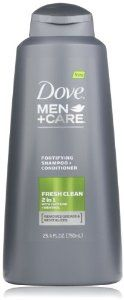Dove Men Care Fresh Clean Fortifying 2 in 1 (25.4oz)