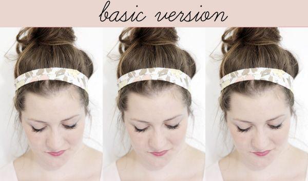 see kate sew: vintage inspired headwraps: Diy Hair, 2014 Diy, Knot Versions, Clothes Diy, Sessie Diy, Diy Headbands, Hair Bows, Diy Potential, Diy Crafty