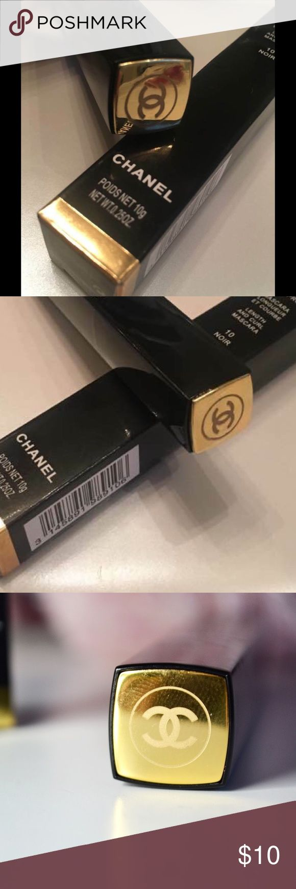 Chanel mascara Sublime De Chanel waterproof mascara 10 noir brand new, CHANEL Makeup Mascara