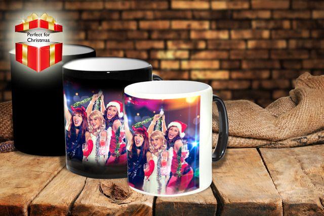 Personalised 'Heat to Reveal' Mug
