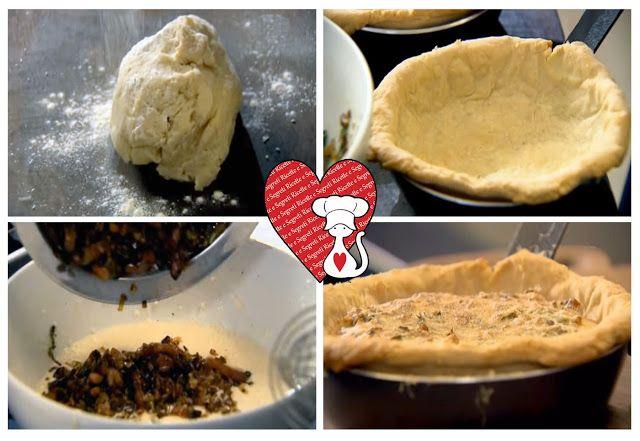 Ricette e Segreti in Cucina : Quique di porri con pancetta