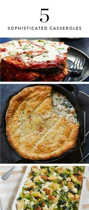 5 Recipes That Will Change the Way You Think About Casseroles via @PureWow