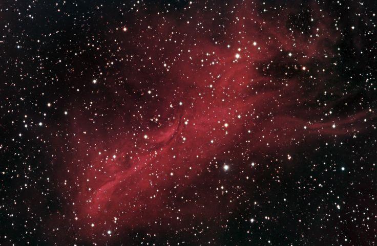 El catálogo Sharpless: Sh2-262 (Sharpless 262) es una nebulosa muy poco estudiada, por lo que no sabemos muchos datos sobre ella. Está a unos 2.935 años-luz de distancia del Sistema Solar. Foto de Dean Salman. #astronomia #ciencia