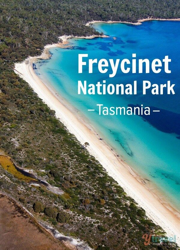 My favourite place in Tasmania is Freycinet National Park. Click inside and you'll see why!