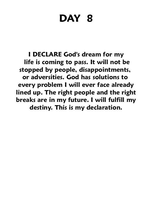 I DECLARE JOEL OSTEEN Famous Quotes For Success – Nadine