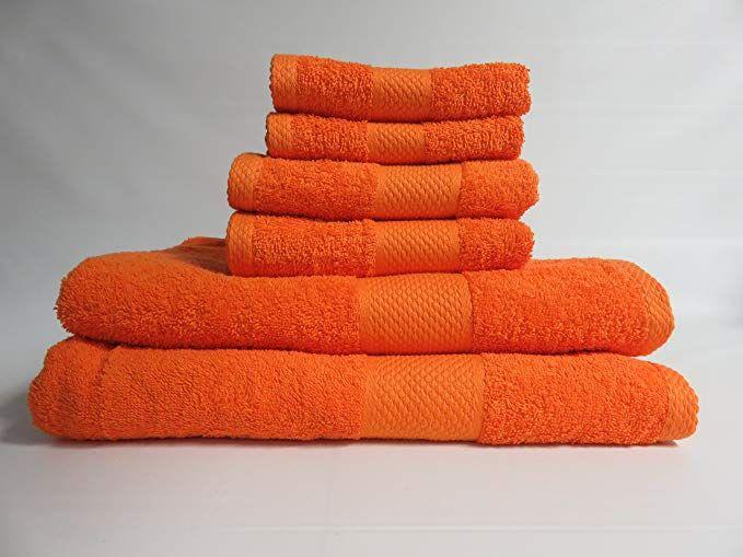 Need Bright Orange Towel Set For New