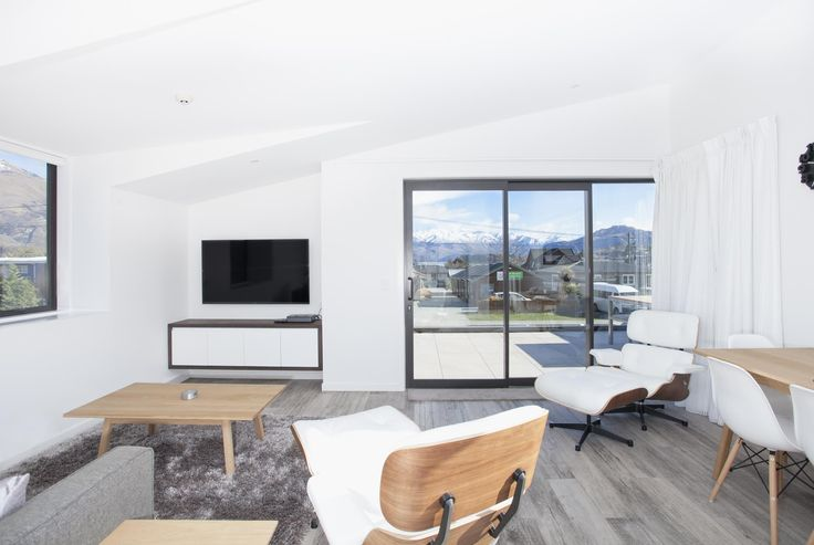 Beautifully furnished living area, paired with glorious views...
