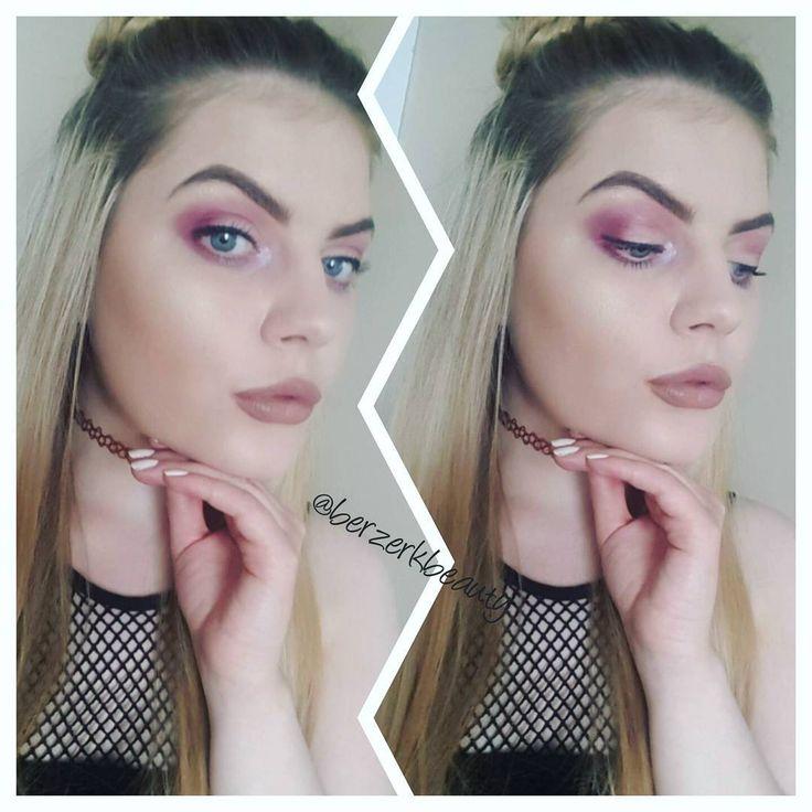 Today's face 😇 #makeup #beautytherapist #love #spacebuns👽 #pout #morphe #catricecosmetics #makeupgeek #browsonfleek #hashtag