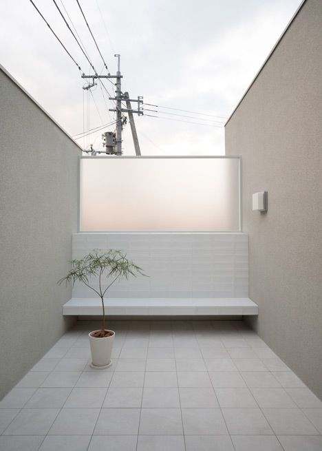 House of Reticence by FORMKouichi Kimura Architects #courtyards