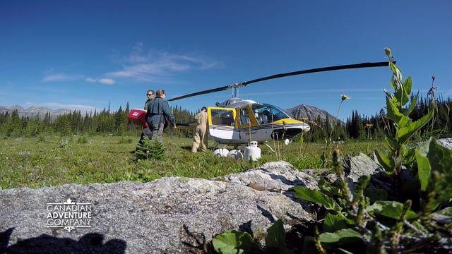 True Outdoors Alpine Adventure contest winner Joel Jackson enjoying his prize at the Canadian Adventure Company's Mallard Mountain Lodge in the Canadian Rockies. #mallardmountainlodge  #myBCbackcountry  #exploreBC