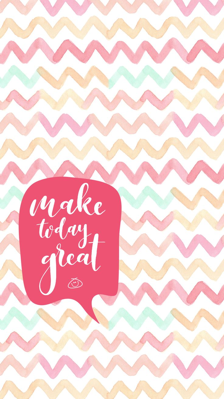 Free Colorful Smartphone Wallpaper – Make today great