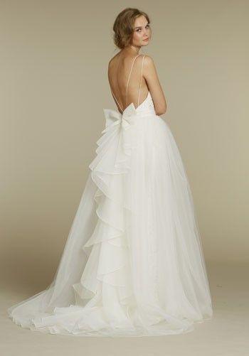 love it: Weddingdress, Wedding Dressses, Wedding Ideas, Wedding Dresses, Weddings, Bows, Dream Wedding, Future Wedding