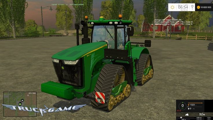 John Deere 9560RX Final для Farming Simulator 2015 - http://truckgame.ru/farmingsimulator2015/john-deere-9560rx-final-dlya-farming-simulator-2015/