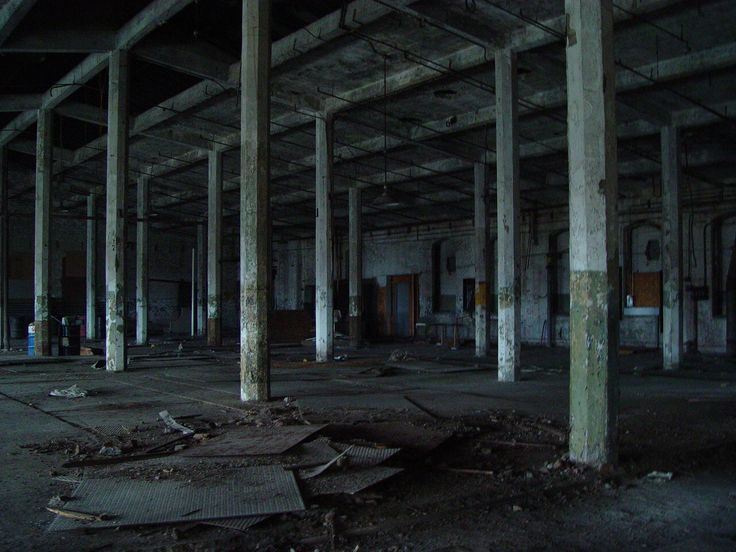 hang out in abandoned warehouse with my friends