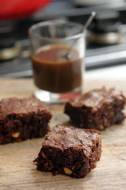 Dave and Kate's Chocolate Brownies | David Lebovitz