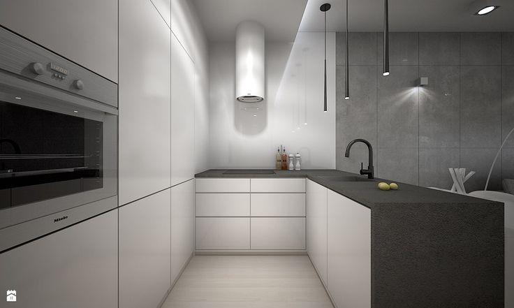 Kuchnia - Styl Nowoczesny - TK Architekci