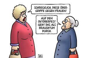 Bild zu Harm Bengen Karikatur