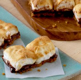 ... campfire s mores bread pudding recipe s more bread pudding super easy