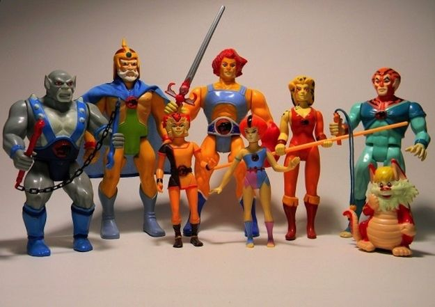 The toys of my childhood