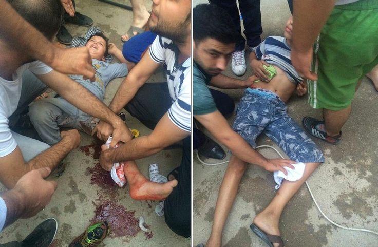 Αντιγραφάκιας: Τούρκοι ελεύθεροι σκοπευτές πυροβολούν τα παιδιά τ...