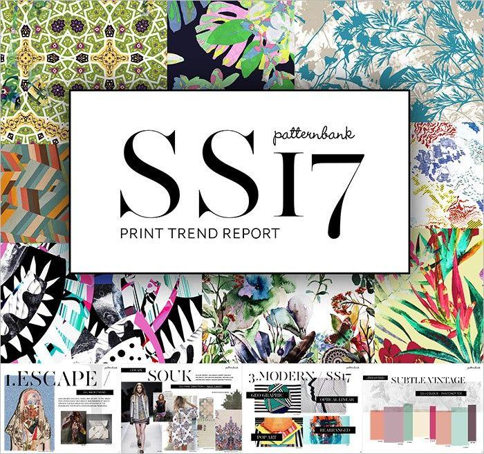 Spring/Summer 2017 Print & Pattern Trend Report