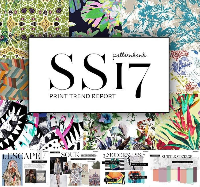 Spring/Summer 2017 Print & Pattern Trend Report