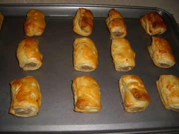 Scottish Sausage Rolls had these this morning at the Scottish Games in STL....AMAZING!