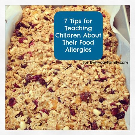 7 tips for teaching kids about food allergies