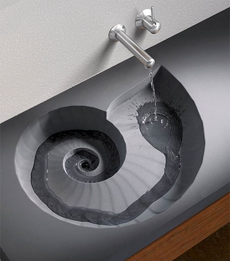 Sink that looks like a shell!