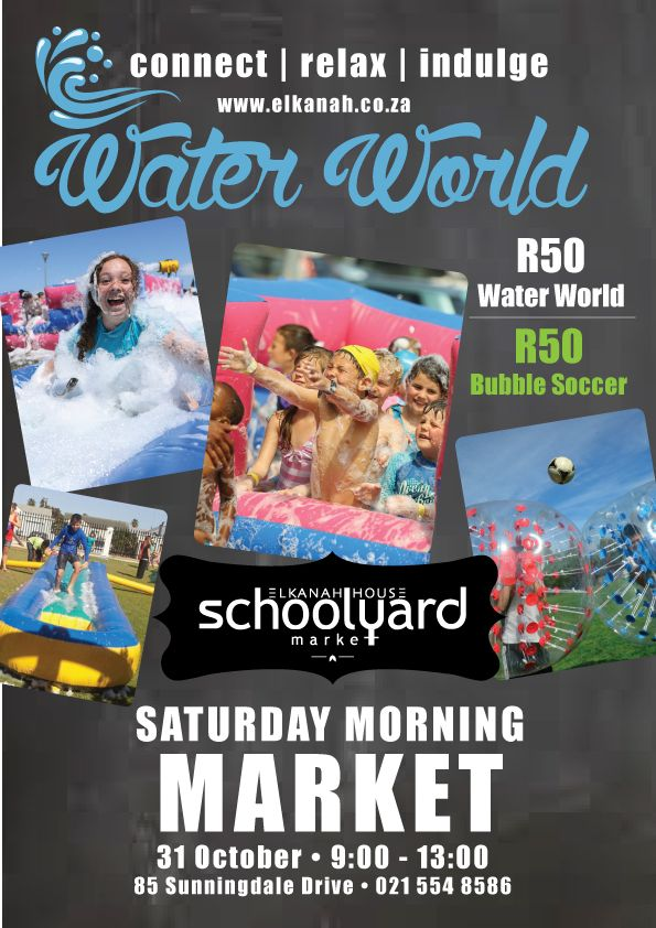 Water World at the Schoolyard Market |