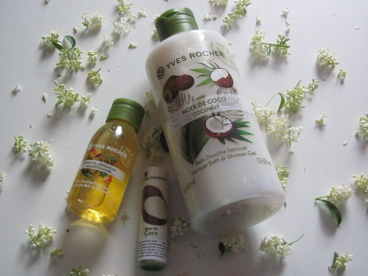 Plaisirs Nature Yves Rocher new shower gel! Love nature.