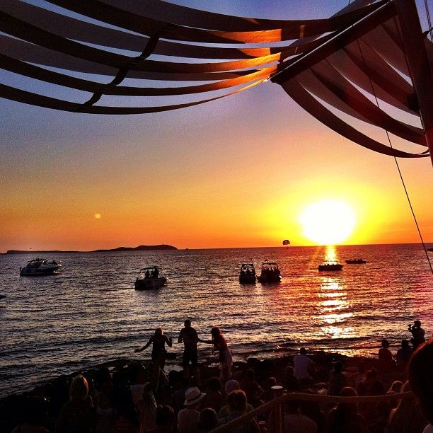 @lost_in_summer | The best things in life... @Cafe Mambo Ibiza
