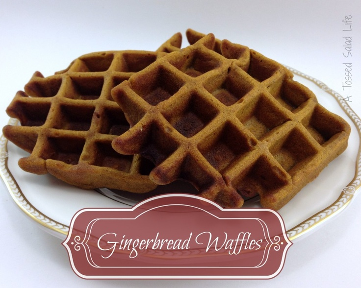 Gingerbread waffle recipe/9.13/ Yummmmm! Although as I was halving it ...