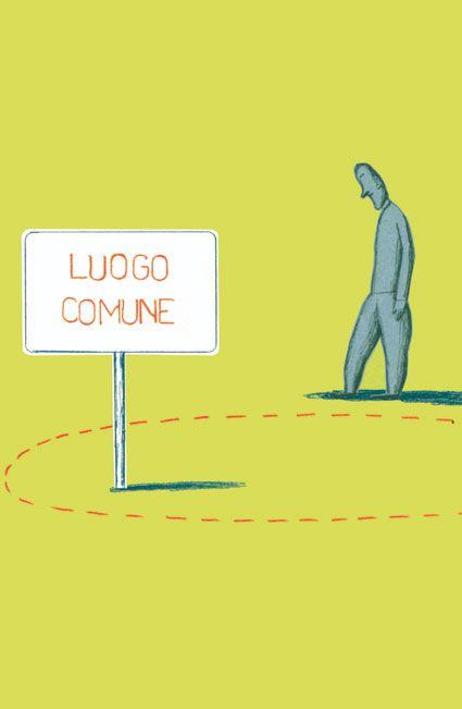 Luogo comune by Guido Scarabottolo