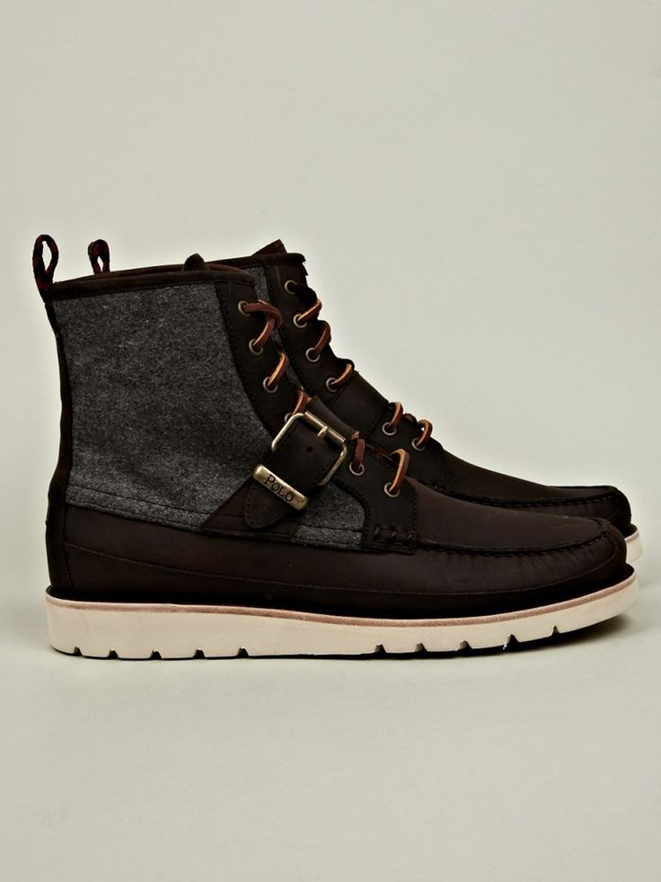 Polo Ralph Lauren Men's Saddleworth Boot: about the only Polo boots I'd  actually wear now a days