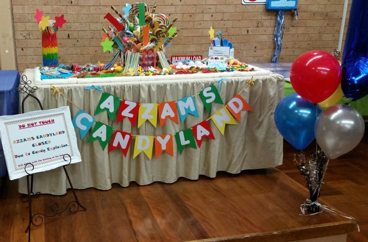 Candy Land Design... Kiama N.S.W check my Facebook Page https://www.facebook.com/Lolly-Buffet-Jules-Sweet-Treats-810653335623050/