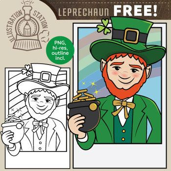 Meet Liam the Leprechaun, perfect for St Patrick's Day! This little guy will be part of an upcoming larger cast of clip art characters. View the original cast here: Cast of Characters. (Cupid