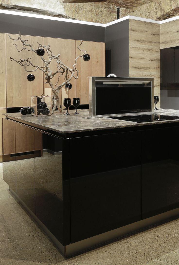 33 best Just Black images on Pinterest | Black kitchens, Apartments ...