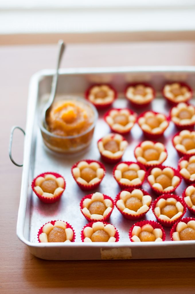 pineapple jam tarts from @Kira Kira Neal Srivastava
