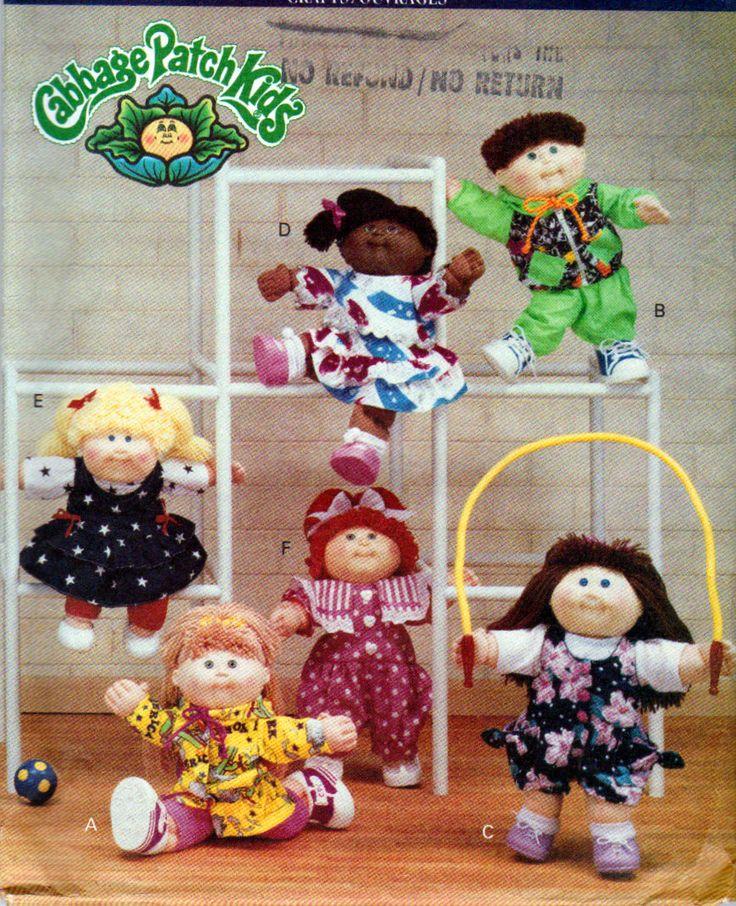 Cabbage Patch Hat Pattern Crochet Boys