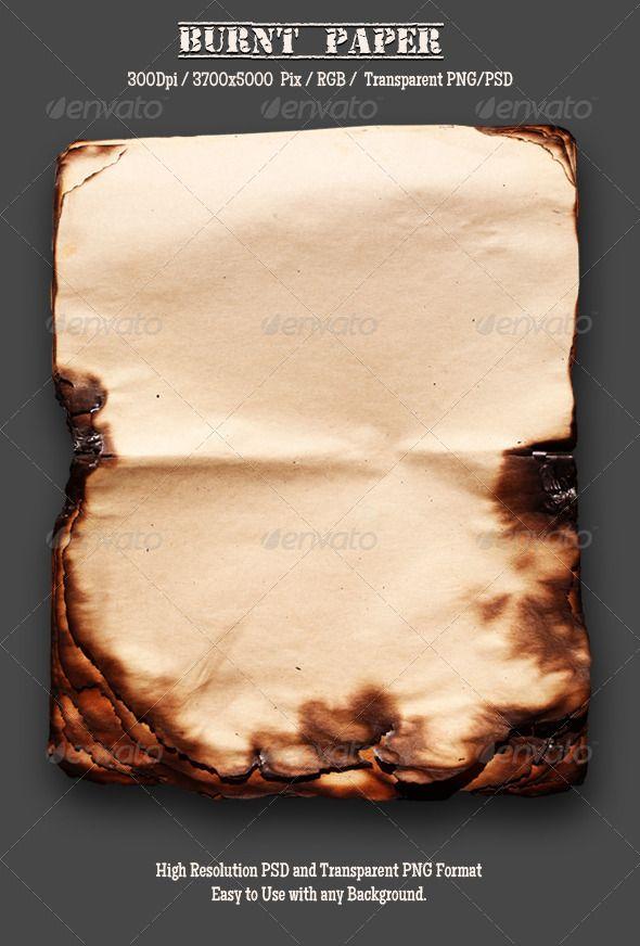 Burnt Old Paper 15