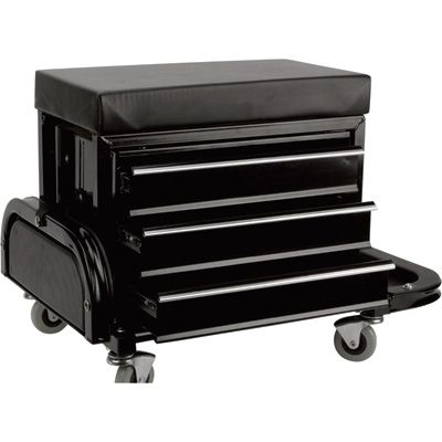 Performance Tool Mechanic's Stool with Drawers — Model# W85025