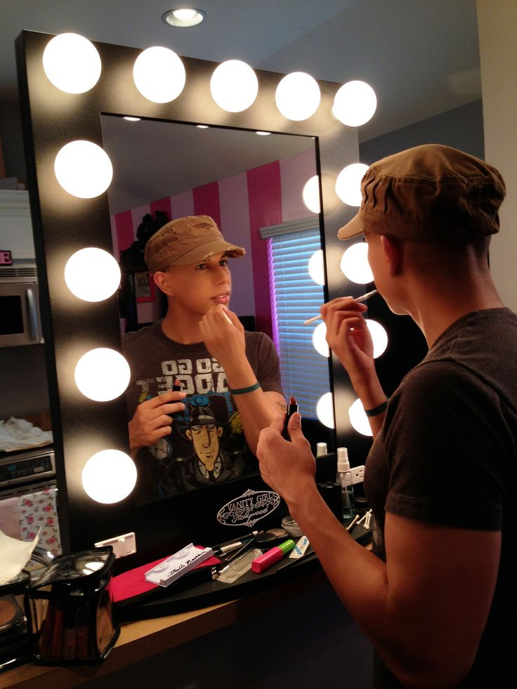 Makeup Table Vanity Mirror Hollywood Vanity Girl