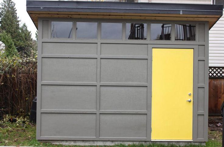 31 best images about sheds on pinterest storage sheds for Modern shed siding