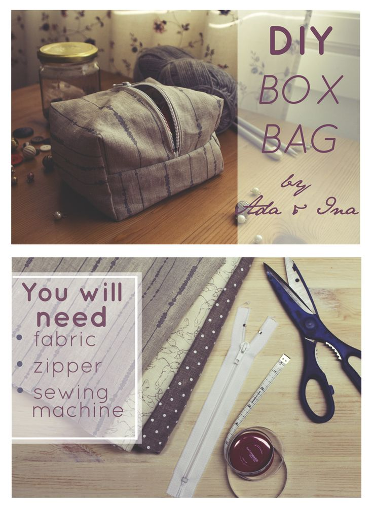 Tutorial: sew your own box bag!