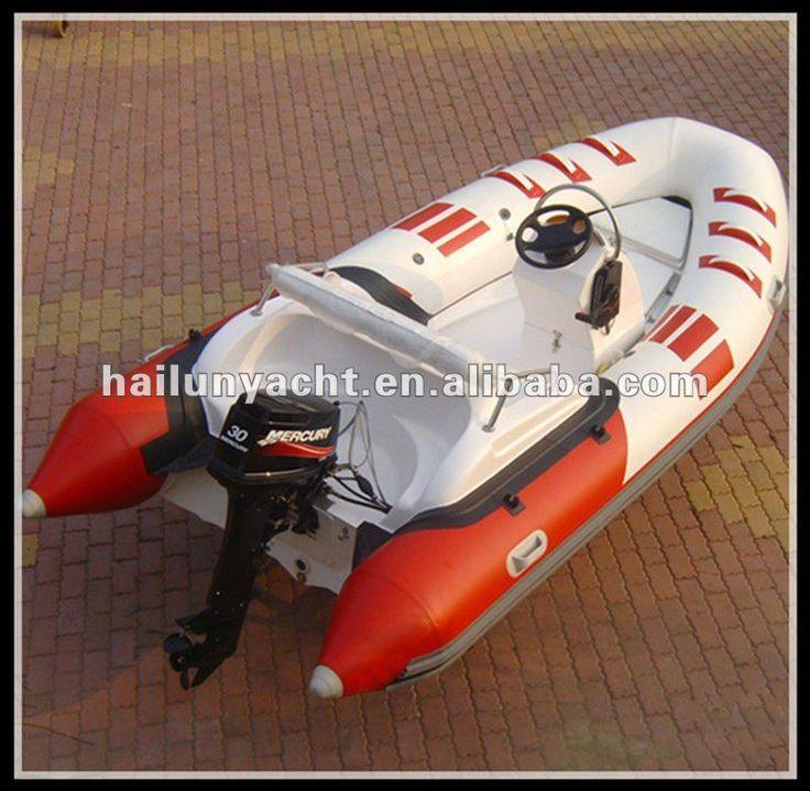 Hot!! CE fiberglass rib speed boats for sale (HLB420) $3000~$5000