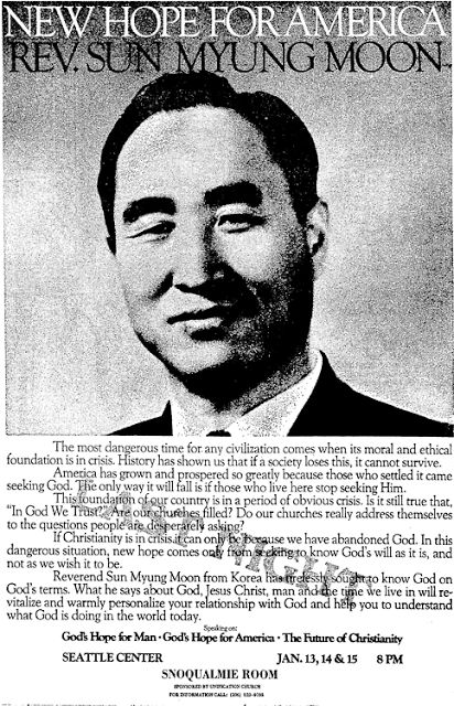 Charles Frith - Punk Planning: Reverend Sun Myung Moon - CIA Asset, Right Wing Na...