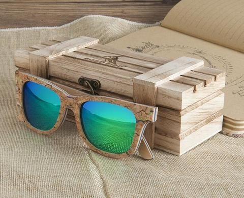 Wooden sunglasses cheap polarised custom online free shipping wooden box 2017 custom personalise Auhashop