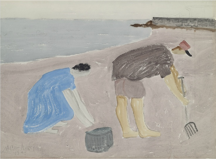 Milton Avery  Clam Diggers