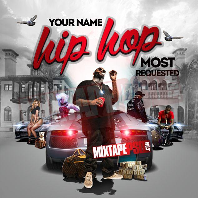 Image gallery mixtape psd for Hip hop psd